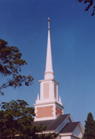 Swampscott church steeple picure