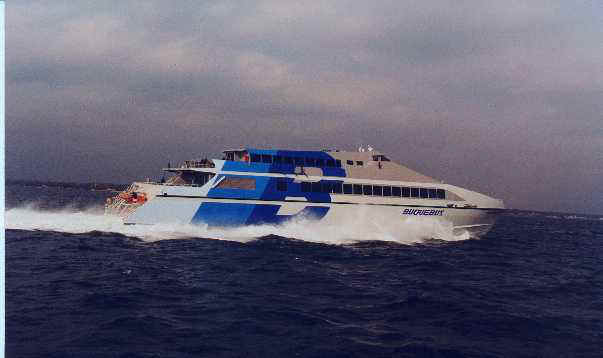 turbine fast ferry picture